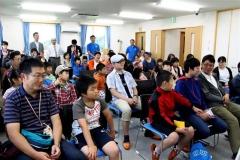 日本の宇宙活動学ぶ JAXA、大塚製薬宇宙教室、大樹  2