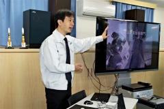 日本の宇宙活動学ぶ JAXA、大塚製薬宇宙教室、大樹  3