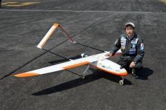 実験に使用した無人機と緒川社長