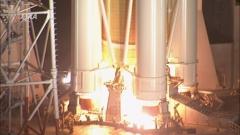 「こうのとり」6号機の打ち上げ(12月9日、JAXA提供)