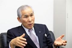 鹿児島県内の2つの射場の印象などを語る増田道経連副会長