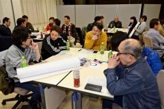 宇宙を核とした観光モデルコースを考える参加者