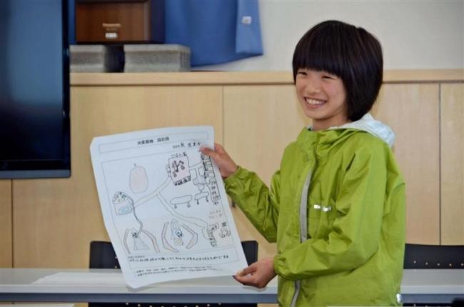ジオラマ作りへ火星基地の案発表 宇宙少年団大樹分団