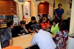 ステラ支える後援会発足 大樹 会長に大庭さん 4