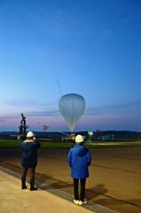 新型ロードテープで放球 JAXA大気球実験 3