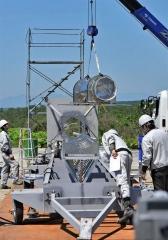 ロケット組み立て公開 IST打ち上げへ 22