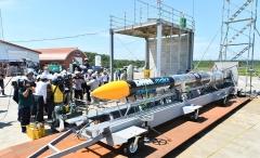 ISTロケット完成 打ち上げ準備万全 大樹で公開 写真9