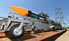 ISTロケット完成 打ち上げ準備万全 大樹で公開 写真10