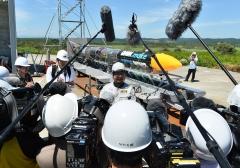 ISTロケット完成 打ち上げ準備万全 大樹で公開 写真11