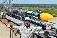 ISTロケット完成 打ち上げ準備万全 大樹で公開 写真12