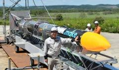 ISTロケット完成 打ち上げ準備万全 大樹で公開 写真13