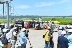 ISTロケット完成 打ち上げ準備万全 大樹で公開 写真14
