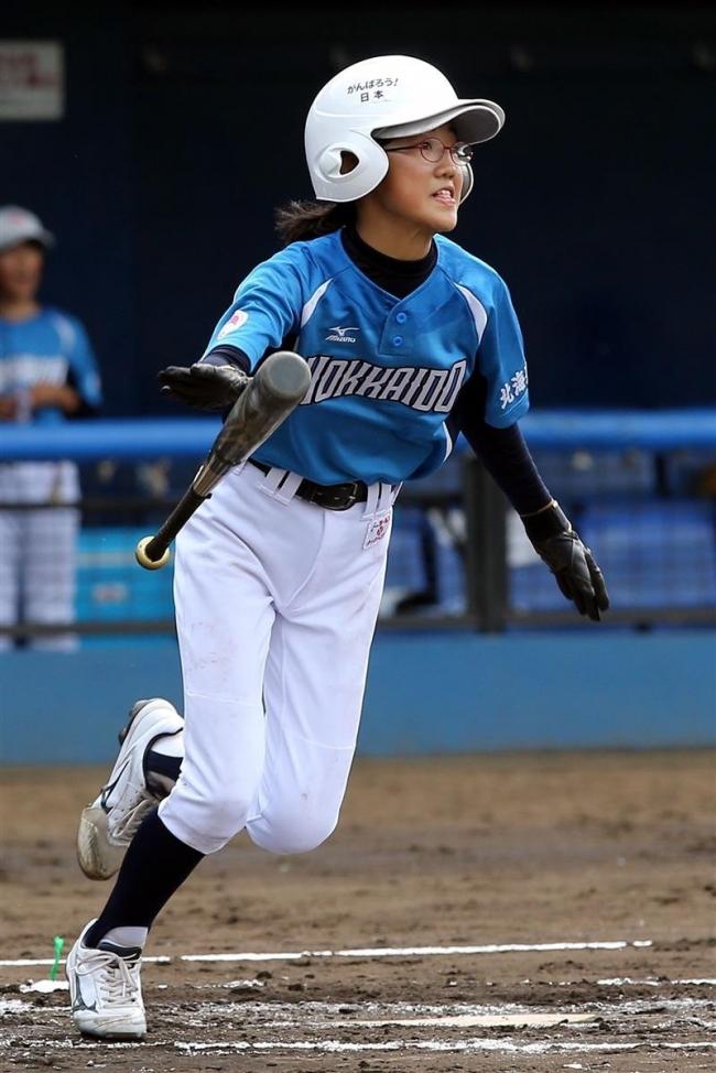 スマイルレインボー攻守で圧倒、全日本女子学童野球