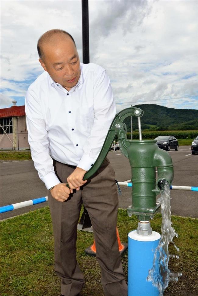 断水でも使える水洗トイレ 指定避難所を改修 新得町