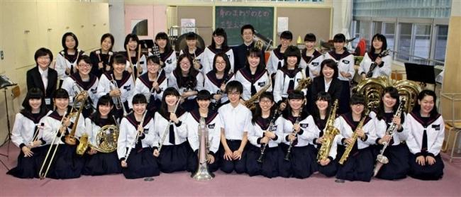 札内東中吹奏楽部 中学初の東日本道代表 幕別