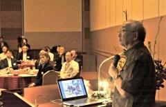 JAXA的川名誉教授が講演 大樹の取り組み「道全体が動くこと 4