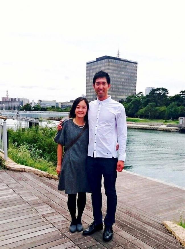 山本選手、元トライアスロン選手の田中さんと結婚