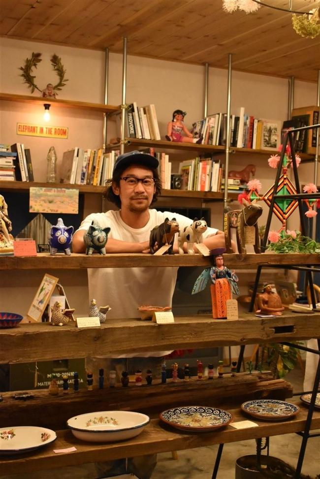 海外雑貨がつなぐ空間を 川瀬さんが帯広に店開く