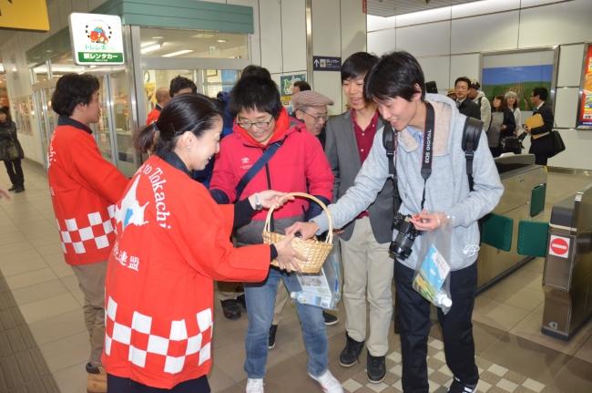 終着駅は「運行実現」…? 北海道モニターツアー 周遊観光列車十勝入り歓迎