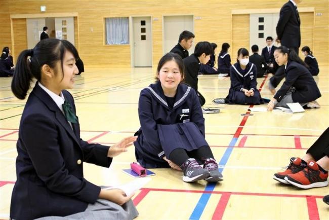 中学生と高校生が語り合う 広尾