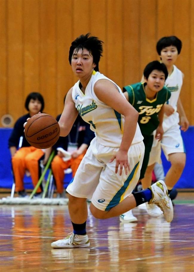 帯八中出の川端活躍、札幌山の手V 道高校バスケ選手権