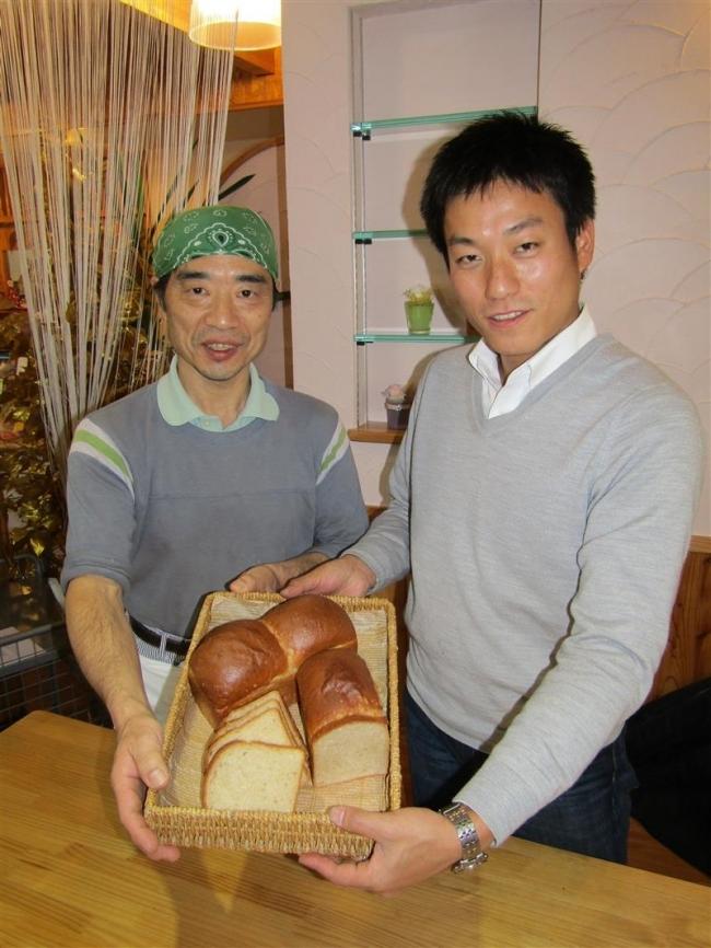 古代小麦でパン 清水の農家佐藤さんとはるこまベーカリー