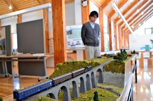 幌加駅のジオラマも ひがし大雪自然館で「思い出の士幌線展」