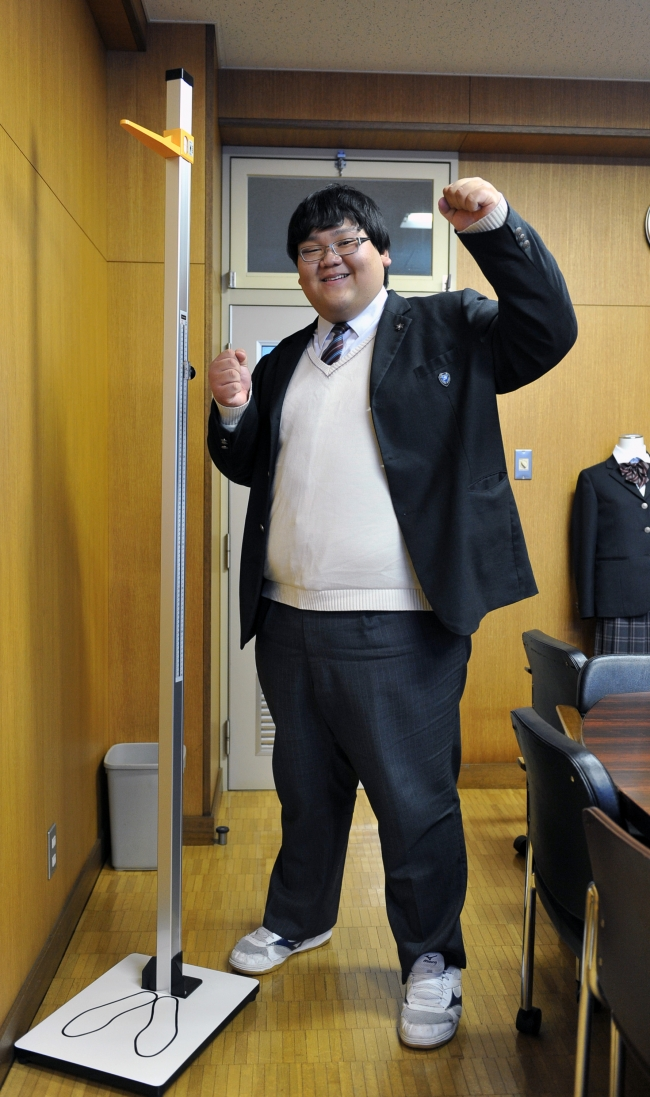 幕別高3年の岩森さん、大相撲の八角部屋入りへ
