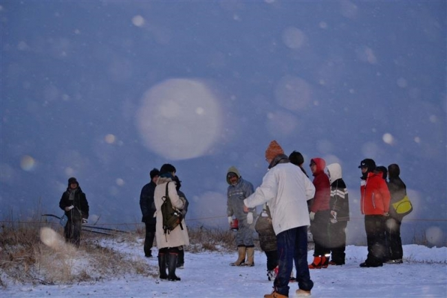 浦幌「初日の出ツアー」 新年の気持ち新たに