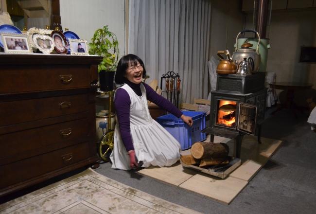 薪ストーブで冬乗り切る 陸別・萩原さんの木造住宅
