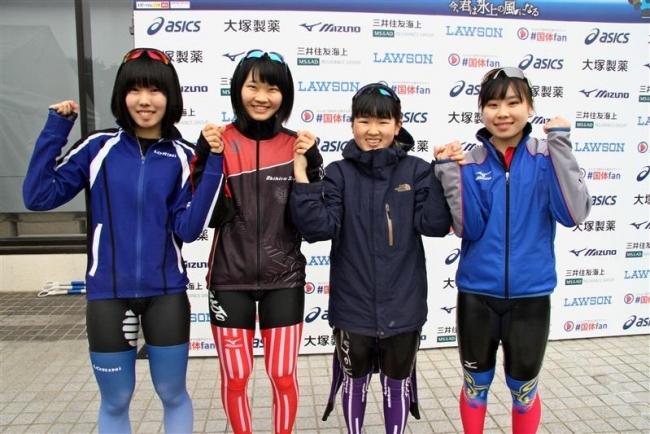 北海道リレー3冠、久保、小坂初V国体スケート最終日