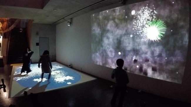 音更出身岡本さんのインタラクティブ映像が新潟芸術祭に登場