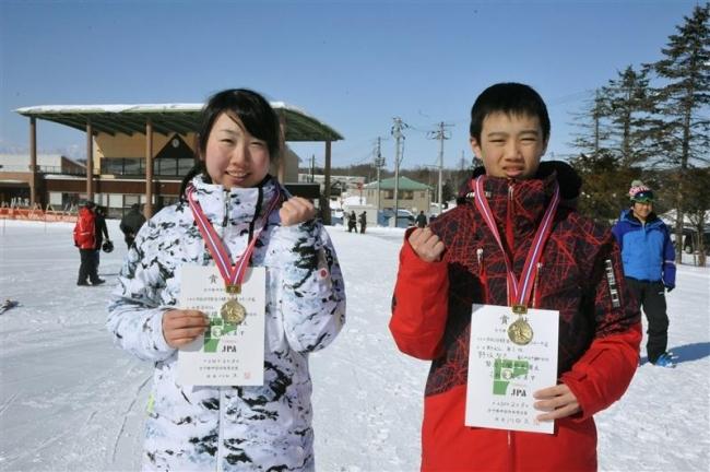 野坂智己、女子は若杉依瑠初V 全十勝中体連スキー