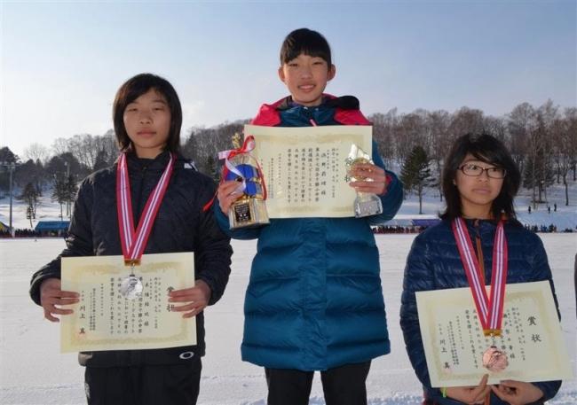 浜野4年連続総合V、足寄で全十勝小中選抜スケート