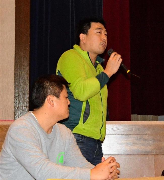 地元と林業の新会社設立へ 浦幌・大手企業人が発表
