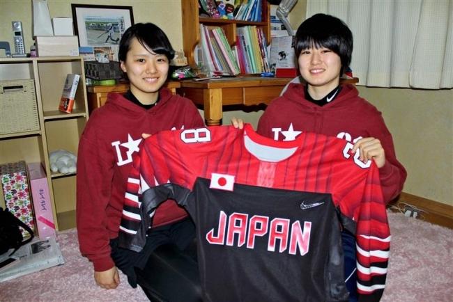 ともに五輪 誓う旅立ち 葵さん、苫小牧の強豪へ 女子アイスホッケー志賀姉妹