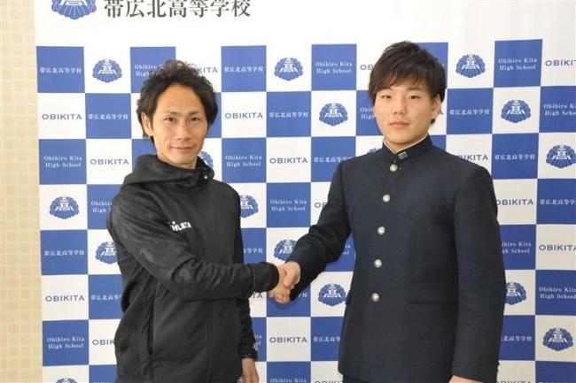 帯北高の吉田愁平、エスポラーダ北海道入団へ