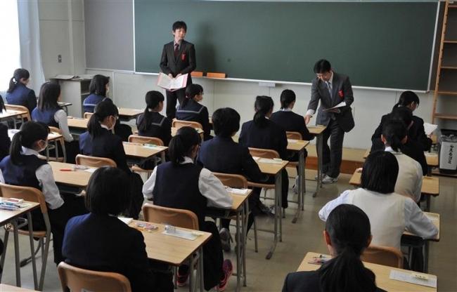 """""""15の春""""に挑む 公立高校で一般入試"""