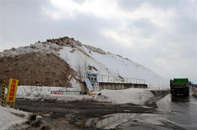 農機展駐車場定まらず 候補地、大雪や大雨の影響