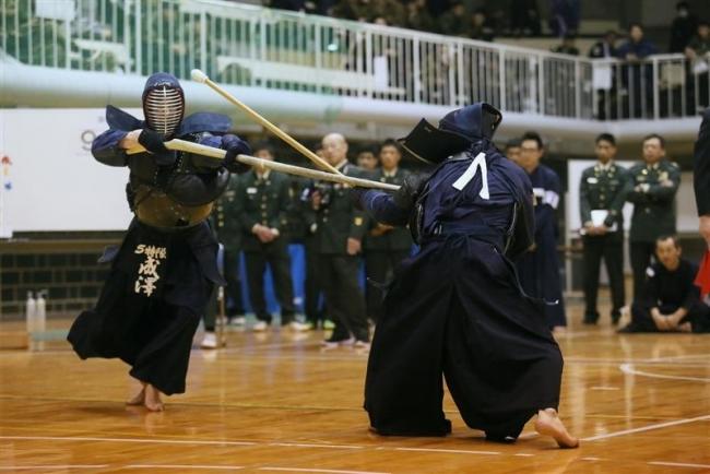 第5特科隊Aと中村恭明準優勝、道銃剣道選手権大会