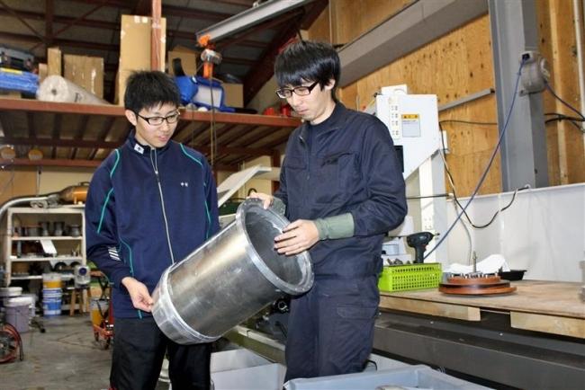 大樹高3年の中村さん、ISTで宇宙学ぶ