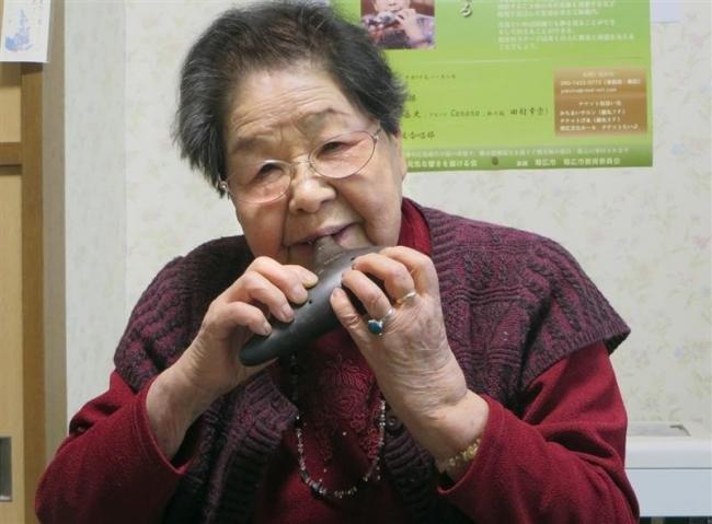 100歳を迎える江島幾代さん 14日にコンサート