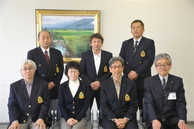 世界シニアカーリング出場TOKACHIと松井が表敬