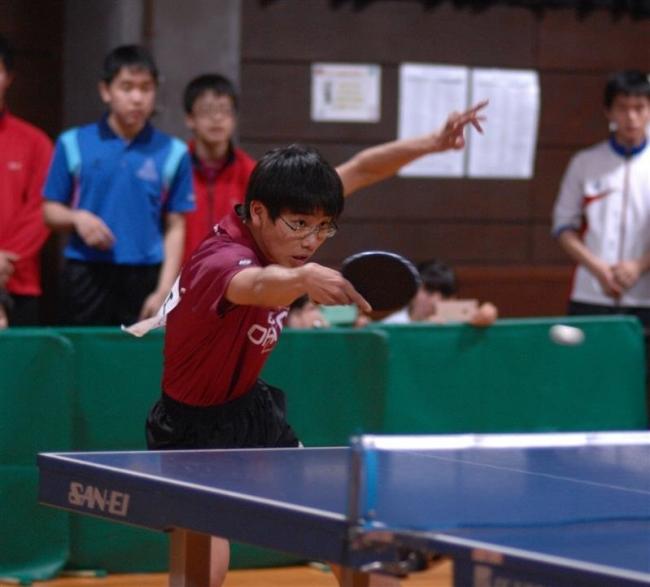 高校男子は大江、女子は1年今田V 全十勝春季卓球