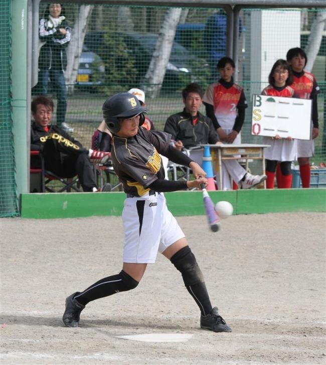 下音更中ク初V、東北海道中学女子ソフトボール
