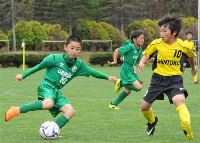 帯広FCブロック優勝、サッカーフクハラ杯U12