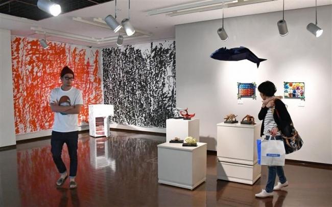 おびひろ市民芸術祭 3つの展示会始まる