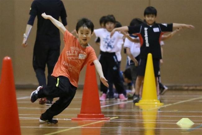 運動会に向けてかけっこ教室 帯広市文化スポーツ振興財団