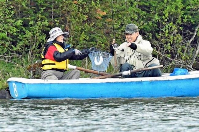 ミヤベイワナ目当てに釣り客全国から 然別湖でグレートフィッシング