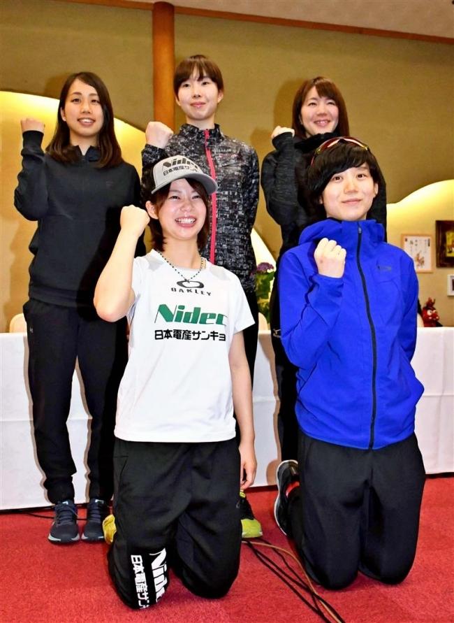 高木姉妹ら十勝勢決意の合宿スケートナショナルチーム